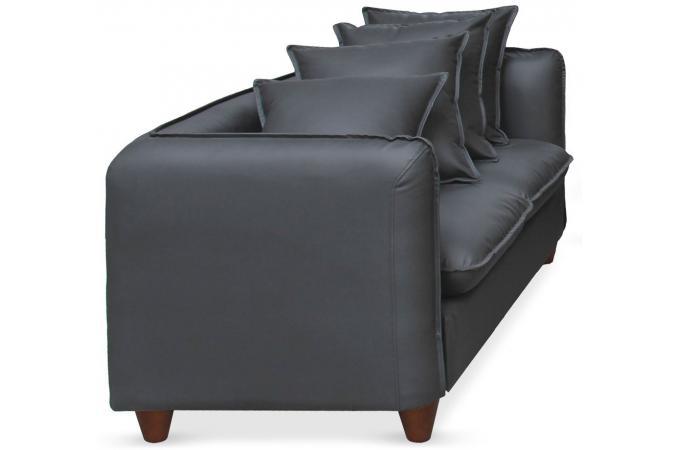 ensemble 2 canap s et 1 fauteuil 3 2 1 places gris igual canap 3 places et plus pas cher. Black Bedroom Furniture Sets. Home Design Ideas