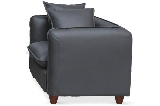 ensemble 2 canapes et 1 fauteuil 321 places gris igual design mlm111517gris 3 680x450 Résultat Supérieur 50 Incroyable Fauteuil 3 Places Stock 2017 Shdy7