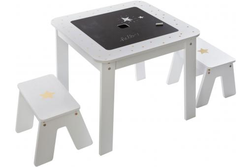 Table Enfant + 2 Tabourets MEJA - Deco enfant design
