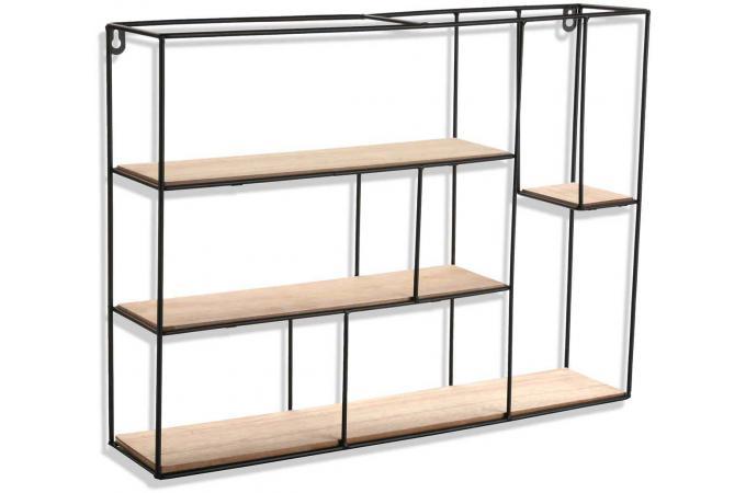 etag re en m tal kozel etag re pas cher. Black Bedroom Furniture Sets. Home Design Ideas