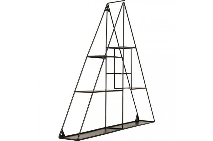 etag re murale filaire kare design triangle deferre etag re pas cher. Black Bedroom Furniture Sets. Home Design Ideas