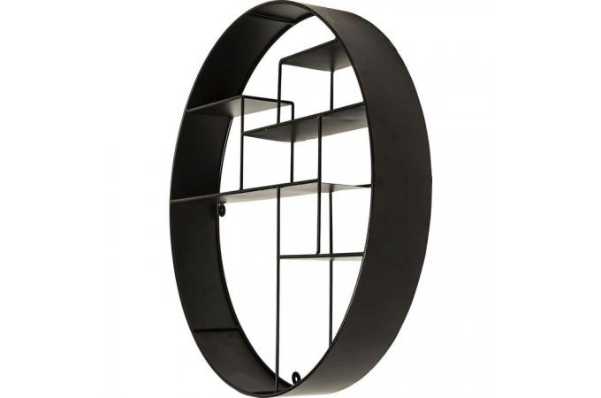stunning etagere ronde murale ideas. Black Bedroom Furniture Sets. Home Design Ideas