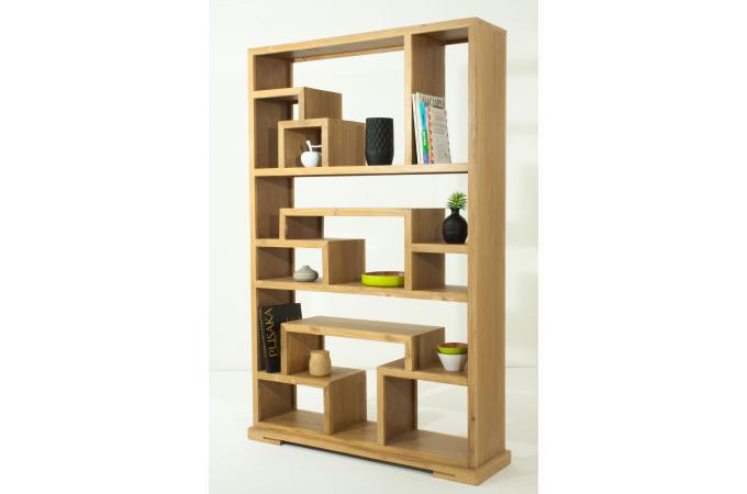 etag re en teck massif matteo etag re pas cher. Black Bedroom Furniture Sets. Home Design Ideas