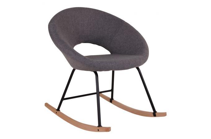 fauteuil bascule scandinave gris soren fauteuil design. Black Bedroom Furniture Sets. Home Design Ideas