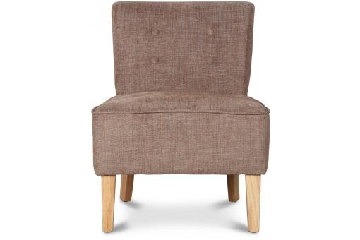 Fauteuil Crapaud Taupe
