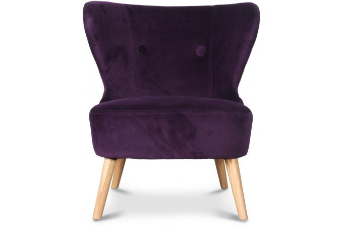fauteuil crapaud design aubergine blues fauteuil crapaud. Black Bedroom Furniture Sets. Home Design Ideas