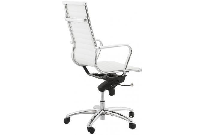 Chaise de bureau design noir et blanc chaise de bureau - Fauteuil de bureau blanc pas cher ...