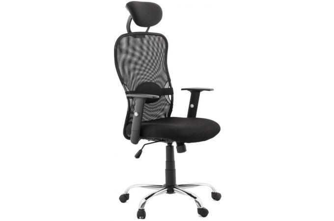 Chaise de bureau design noir previet fauteuil & chaise de bureau