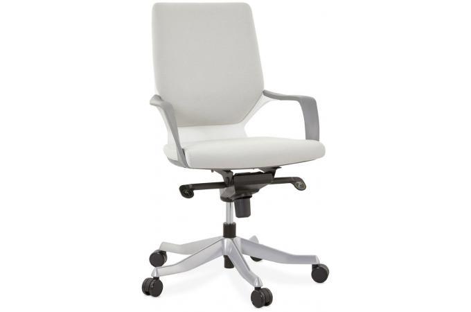 fauteuil de bureau ergonomique gris milano fauteuil chaise de bureau pas cher. Black Bedroom Furniture Sets. Home Design Ideas