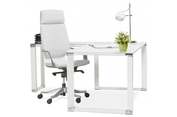 ... Bureau ergonomique noir MILANO - Fauteuil & Chaise de Bureau Pas Cher