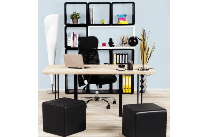 Chaise bureau noir impressionnant siege bureau blanc beautiful