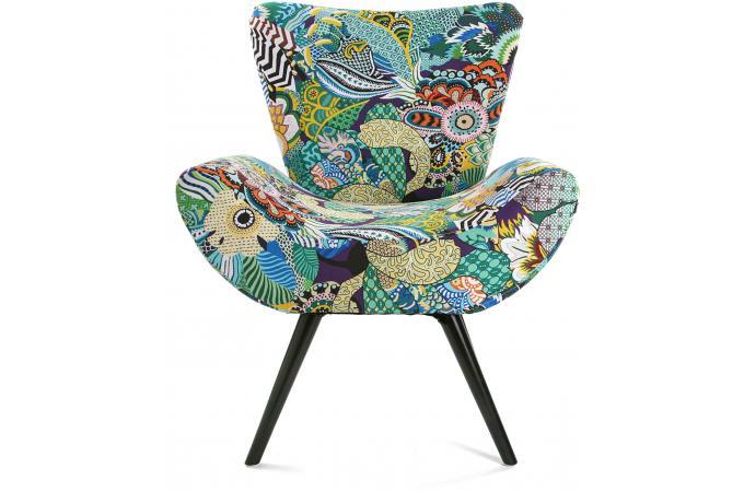 Fauteuil patchwork pas cher maison design Fauteuil butterfly pas cher