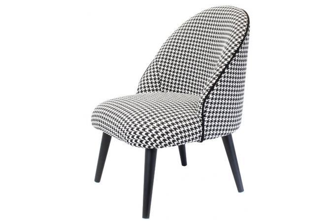 Fauteuil Design Gris : Fauteuil design gris cobb pas cher