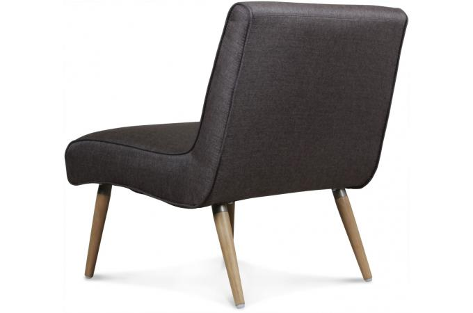 fauteuil design tissu gris grisalide fauteuil design pas cher. Black Bedroom Furniture Sets. Home Design Ideas