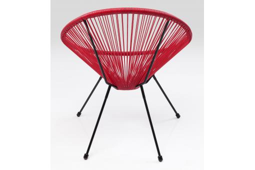 Fauteuil Design Rouge ACAPULCO