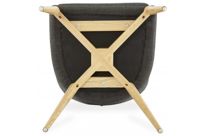Fauteuil en tissu style scandinave gali fauteuil design - Fauteuil style scandinave pas cher ...