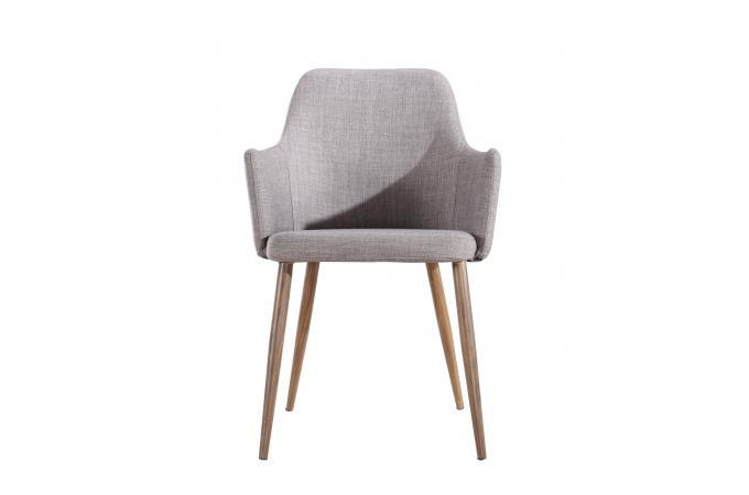 fauteuil scandinave gris courbe fauteuil design pas cher. Black Bedroom Furniture Sets. Home Design Ideas