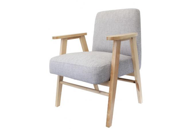 Fauteuil gris univers meubles en ligne for Ameublement en ligne