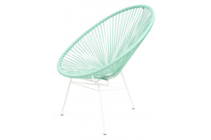 fauteuil la chaise longue turquoise acapulco fauteuil et. Black Bedroom Furniture Sets. Home Design Ideas