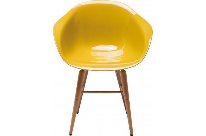 chaise jaune avec accoudoirs forum chaise design pas cher. Black Bedroom Furniture Sets. Home Design Ideas