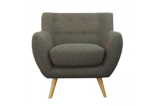 Fauteuil scandinave ALGANO Anthracite