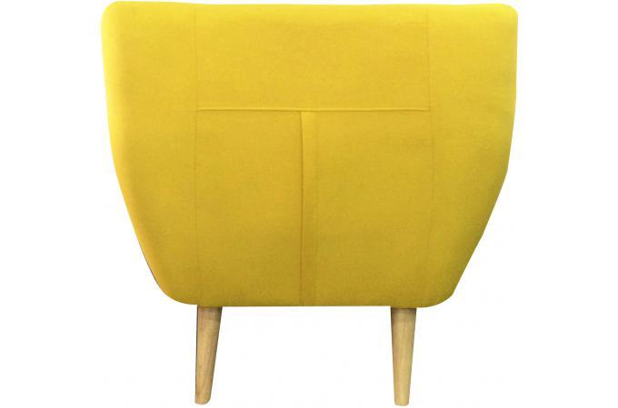 fauteuil scandinave avec boutons multicolores algania - Chaise Scandinave Multicolore