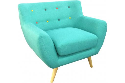 Fauteuil Design Turquoise