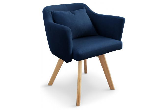 fauteuil scandinave bleu layal fauteuil design pas cher. Black Bedroom Furniture Sets. Home Design Ideas