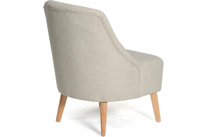 fauteuil scandinave beige eclipse fauteuil design pas cher. Black Bedroom Furniture Sets. Home Design Ideas
