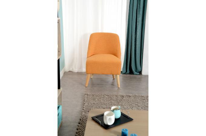 fauteuil scandinave orange eclipse fauteuil design pas cher