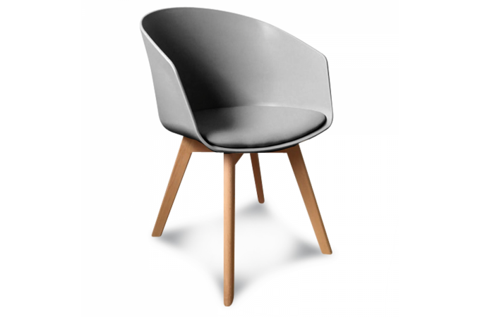 fauteuil scandinave gris clair danish fauteuil design pas cher. Black Bedroom Furniture Sets. Home Design Ideas