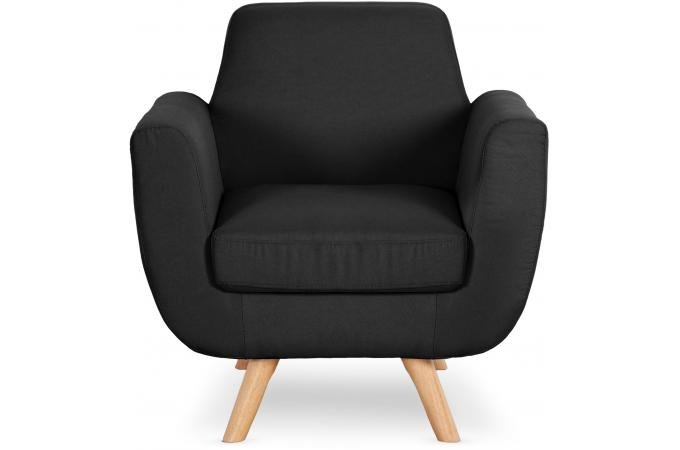 fauteuil scandinave tissu noir telia fauteuil design pas. Black Bedroom Furniture Sets. Home Design Ideas