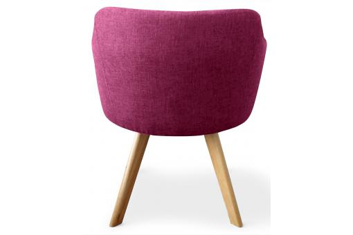 Fauteuil Scandinave violet LAYAL