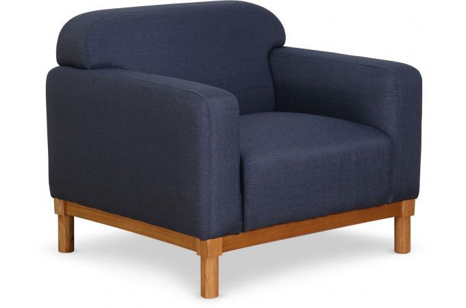 fauteuil tissu bleu kanapki fauteuil design pas cher. Black Bedroom Furniture Sets. Home Design Ideas