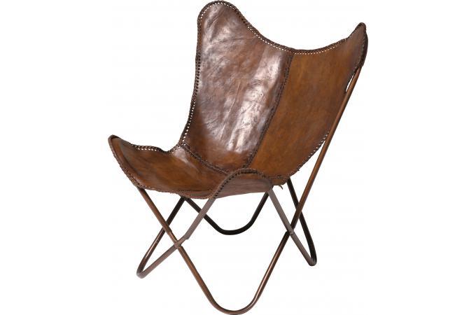 fauteuil transat cuir de vache clarabelle design 46910 680x450 Résultat Supérieur 5 Bon Marché Fauteuil Transat Cuir Image 2017 Hjr2