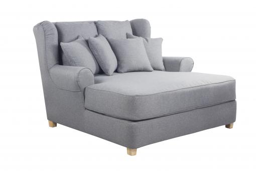 Fauteuil XXL Cosy Gris SKID