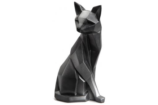 Korb - FIGURINE CHAT ORIGAMI GRIS ROV