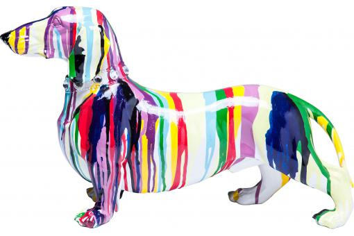 KARE DESIGN - Figurine décorative Dog Colore 25cm