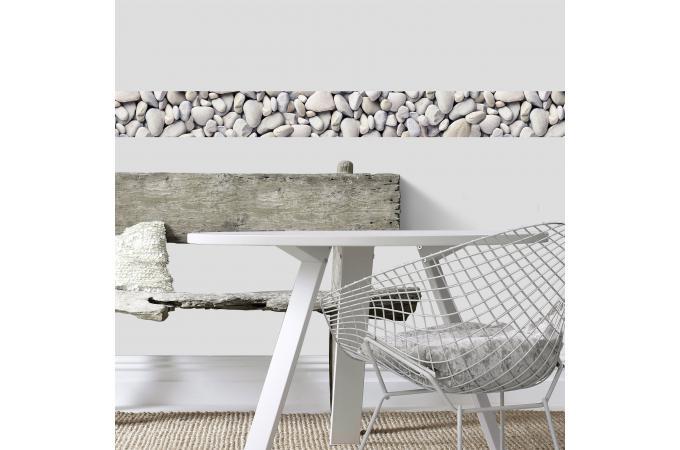 frise adhesive etretat 500x15 papier peint zen pas cher. Black Bedroom Furniture Sets. Home Design Ideas