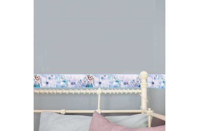 Frise adhesive frozen snowqueen 500x15 6 la reine de neiges d co enfant pas cher - Frise reine des neiges ...