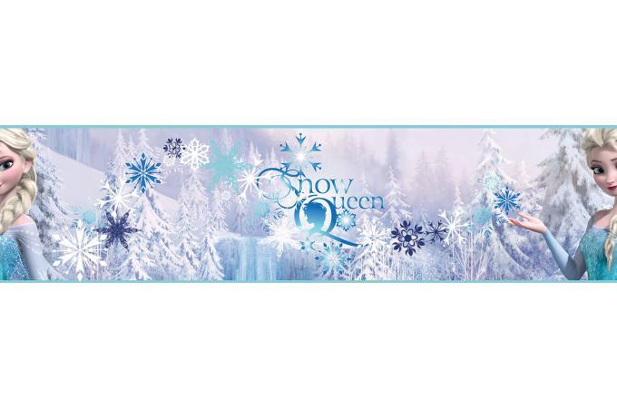 Frise adhesive frozen snowqueen 500x15 6 la reine de - Frise reine des neiges ...