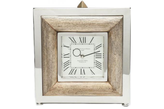 Horloge poser bois st martin horloge design pas cher - Horloge a poser design ...