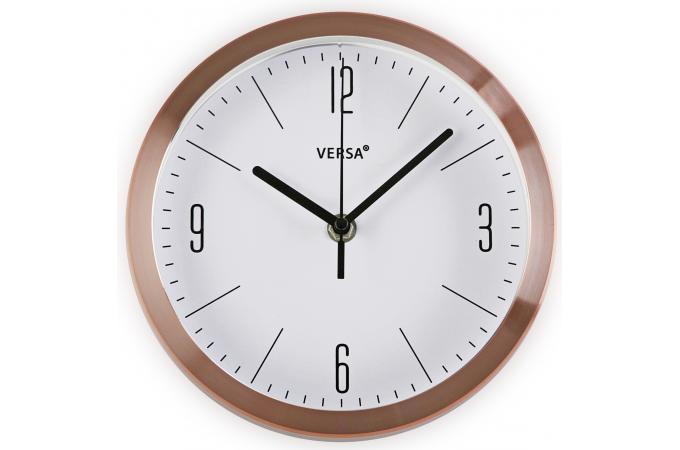 horloge murale cuivre horloge design pas cher. Black Bedroom Furniture Sets. Home Design Ideas