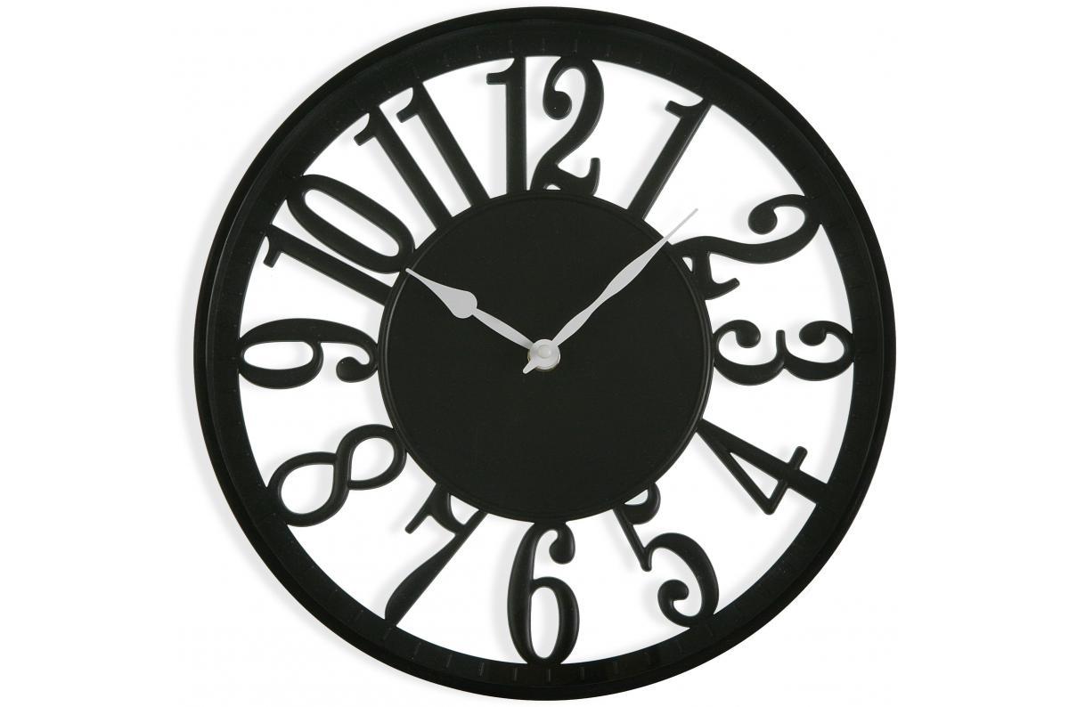 Horloge Murale Noire 30cm Coxy Horloge Pas Cher