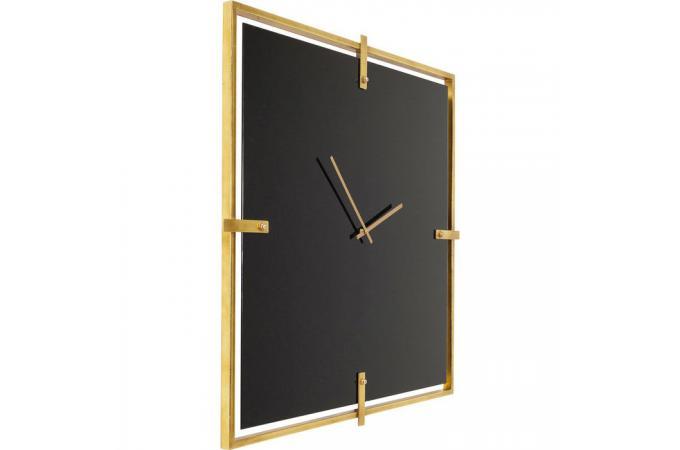 Horloge Murale Noire Ventura Horloge Design Pas Cher