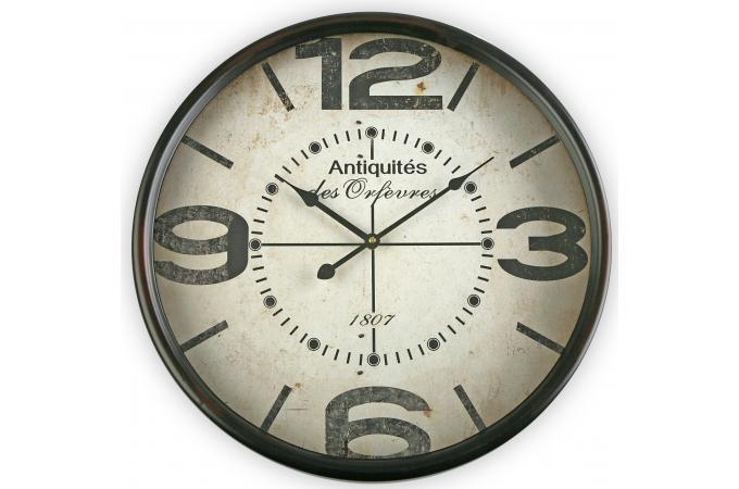 Horloge murale r tro horloge design pas cher for Horloge murale retro