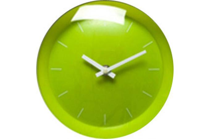 horloge vert tictac horloges design pas cher declik deco. Black Bedroom Furniture Sets. Home Design Ideas