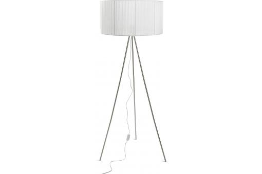 lampadaire 3 pieds blanc zola lampe poser pas cher. Black Bedroom Furniture Sets. Home Design Ideas