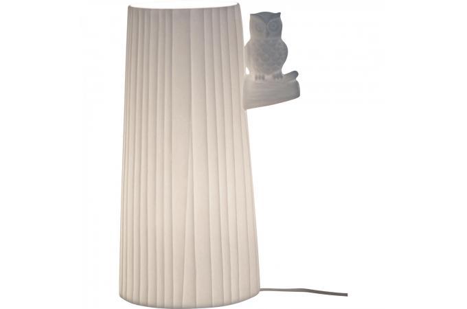 En Plus D'infos Poser Macouma H24 Arbre Lampe Sur A Ceramique Un Oiseau 8wOnk0P