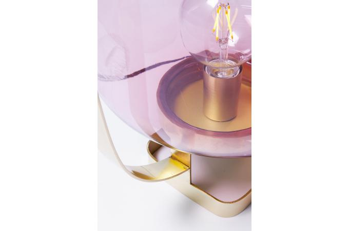Lampe A Poser En Metal Rose Cuivre Calabasas Lampe A Poser Pas Cher